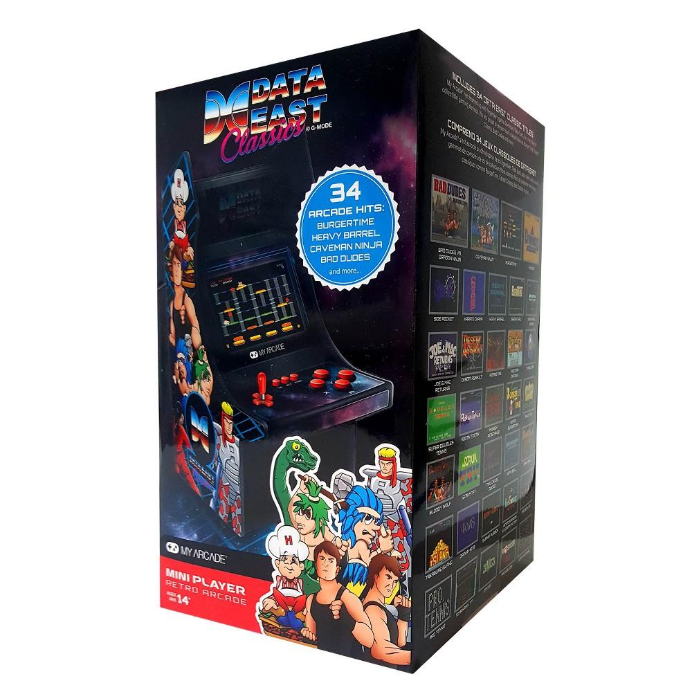 dreamGEAR Micro Player Retro Arcade - Data East Classics, Black
