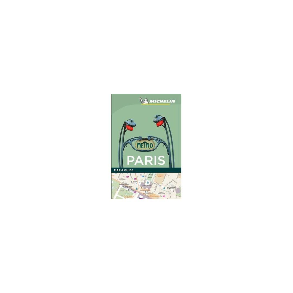 Michelin Map & Guide Paris - (Michelin Map & Guide) (Paperback)
