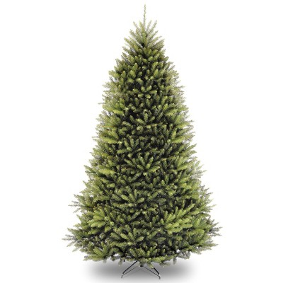 9ft National Christmas Tree Company Dunhill Fir Hinged Full Artificial Christmas Tree