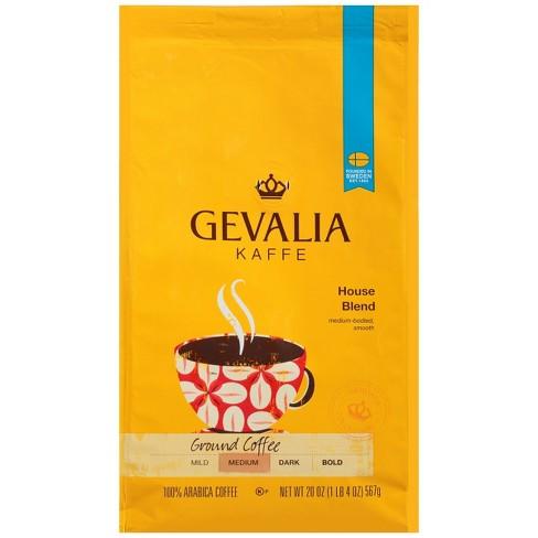 Gevalia House Blend Medium Roast Ground Coffee - 20oz - image 1 of 4