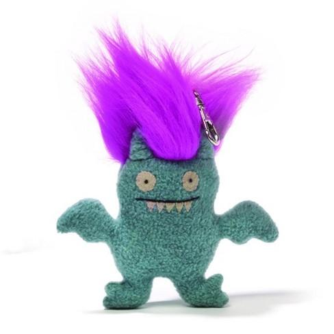 "Enesco Ugly Dolls Bad Hair Day 6"" Plush Clip-On: Ice-Bat - image 1 of 1"