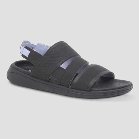 5064b8730436c Women s Jazira Slide Sandal - C9 Champion® Black 6   Target