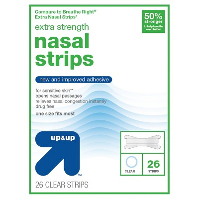 Extra Strength Nasal Strips- 26ct - up & up™