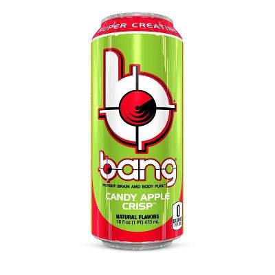 BANG Candy Apple Crisp Energy Drink - 16 fl oz Can