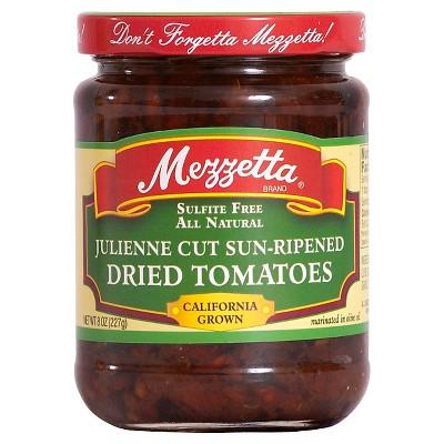 Mezzetta Julienne Sun Dried Tomato in Olive Oil 8oz