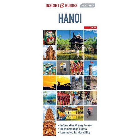 Insight Guides Flexi Map Hanoi - (Insight Flexi Maps) 2(Sheet Map, on