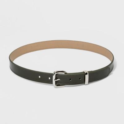8b1e1ab63 Women s Plus Size Plus Metal Loop Belt - Ava   Viv™ Olive
