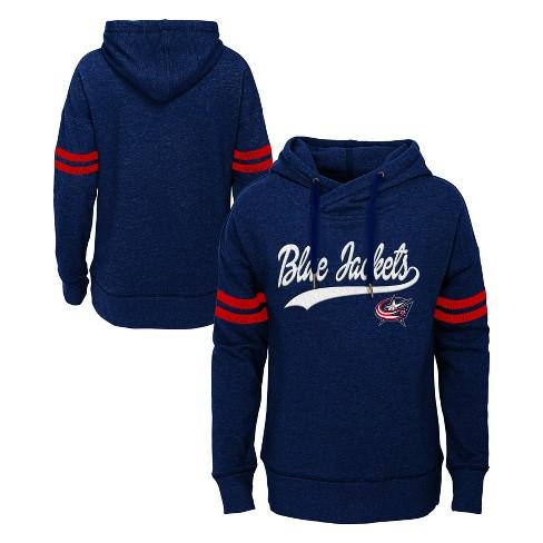 NHL Columbus Blue Jackets Girls' OT Fleece Hoodie - image 1 of 3