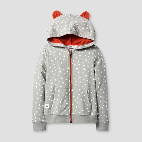 Girls' Toca Boca Costume Hoodie - Gray - image 1 of 1