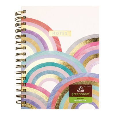 Spiral Journal Rainbow Cream Notes - greenroom