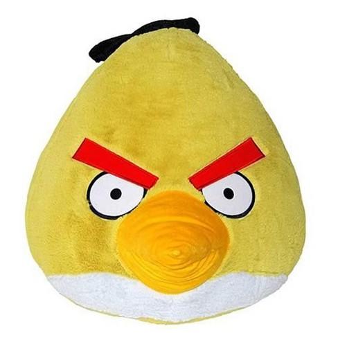 Commonwealth Toys Angry Birds Yellow Bird 16 Plush