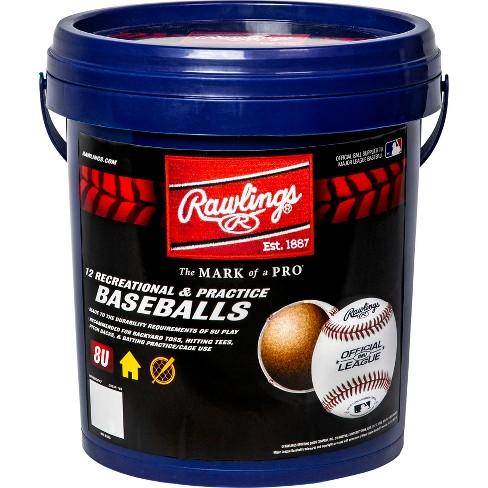 Rawlings Bucket of R8U Baseballs - 12pc - image 1 of 2