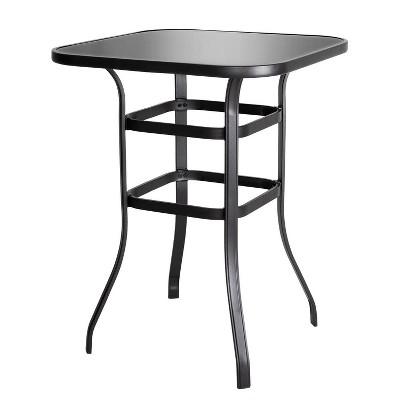 Iron Square Bar Table - Nuu Garden