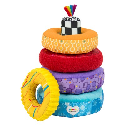 Lamaze Rainbow Rings Stacking Toy