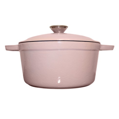 Berghoff Neo Cast Iron 8 qt Oval Cov Casserole Pink - image 1 of 1
