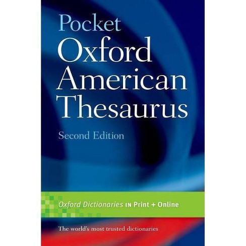 Pocket Oxford American Thesaurus, 2e - 2 Edition (Paperback) - image 1 of 1