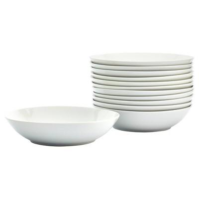 "Denmark Tools for Cooks 12ct 8"" Porcelain Round Soup Bowl - White"