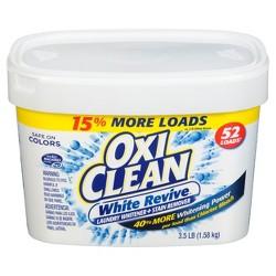 OxiClean White Revive Powder, 3.5lb