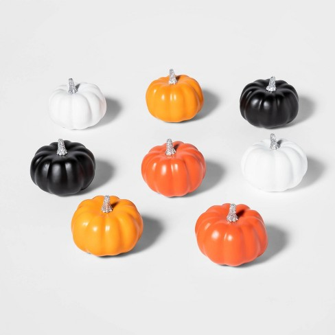 8ct Mini Painted Halloween Pumpkin - Hyde & EEK! Boutique™ - image 1 of 2