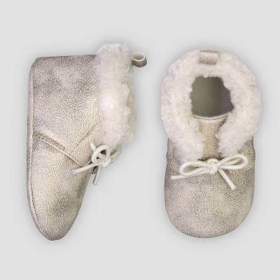 Baby Girls' Desert Boots - Just One You® made by carter's Gold 3-6M