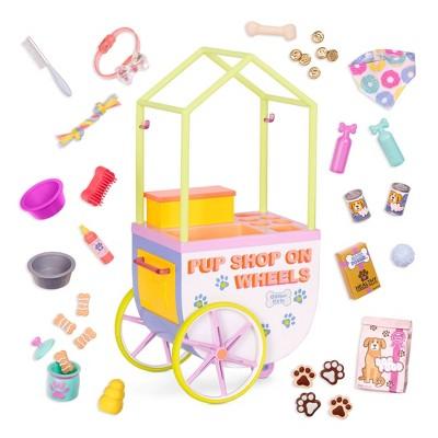 Glitter Girls Pop-Pup Shop on Wheels