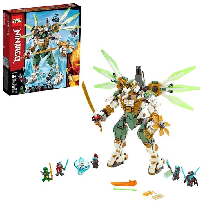 LEGO Ninjago Lloyd's Titan Mech 70676 Ninja Toy Building Kit - image 1 of 7