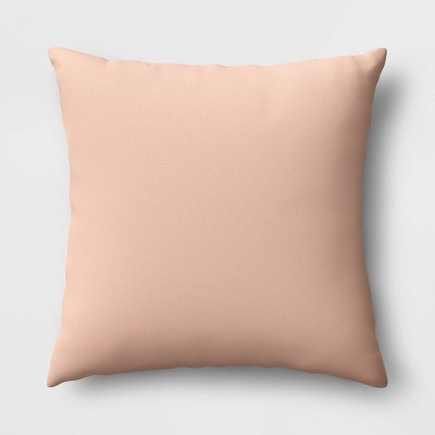 Solid Reversible Throw Pillow Blush/Navy - Room Essentials™