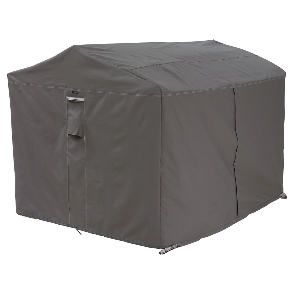 Image of Classic Ravenna Canopy Swing Cover- Dark Taupe