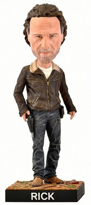 Royal Bobbles The Walking Dead AMC Rick Grimes Bobblehead