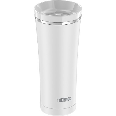 Thermos Stainless Steel Vacuum Insulated Lidded Tumbler 16oz - White