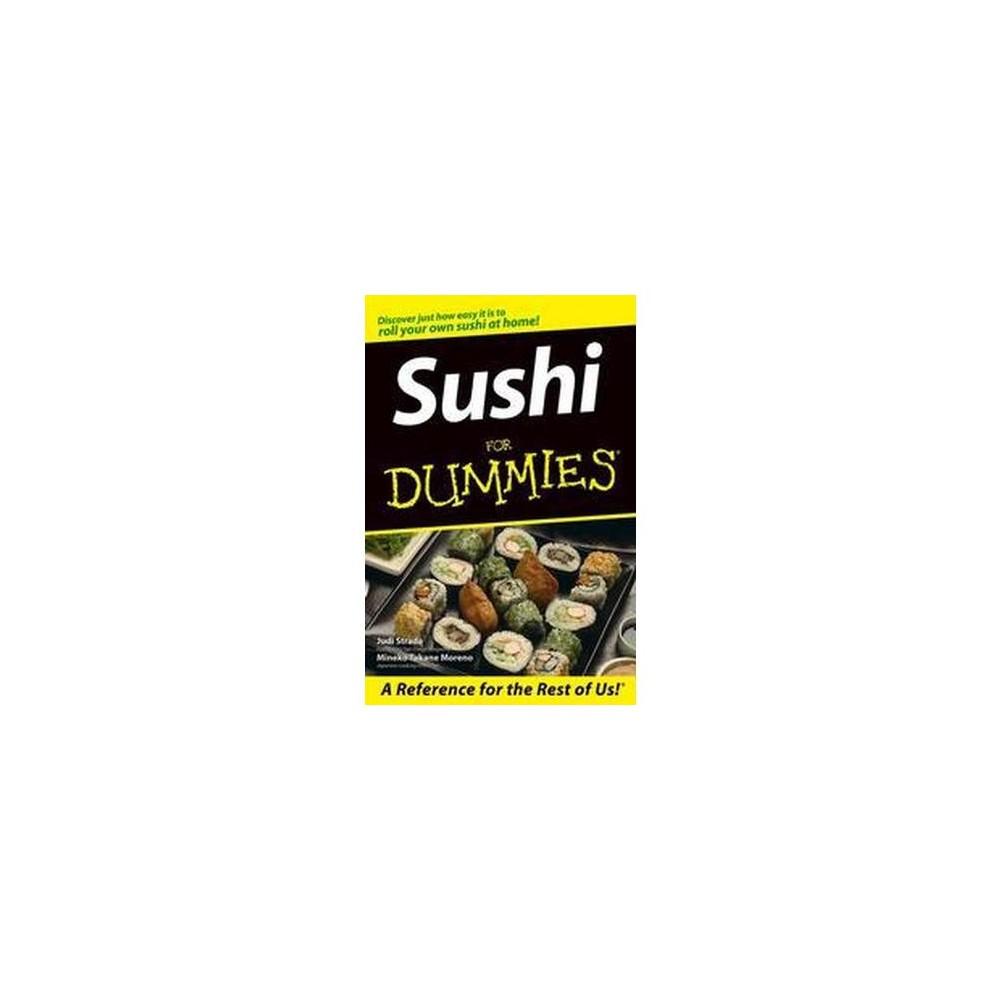 Sushi for Dummies (Paperback) (Judi Strada & Mineko Takane Moreno)