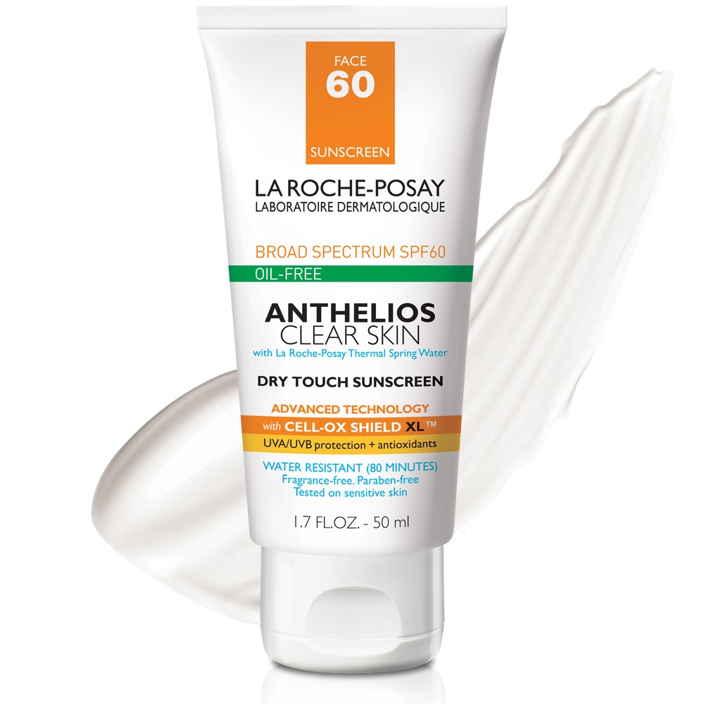 Image of La Roche Posay Anthelios Clear Skin Sunscreen SPF 60 - 1.7 fl oz
