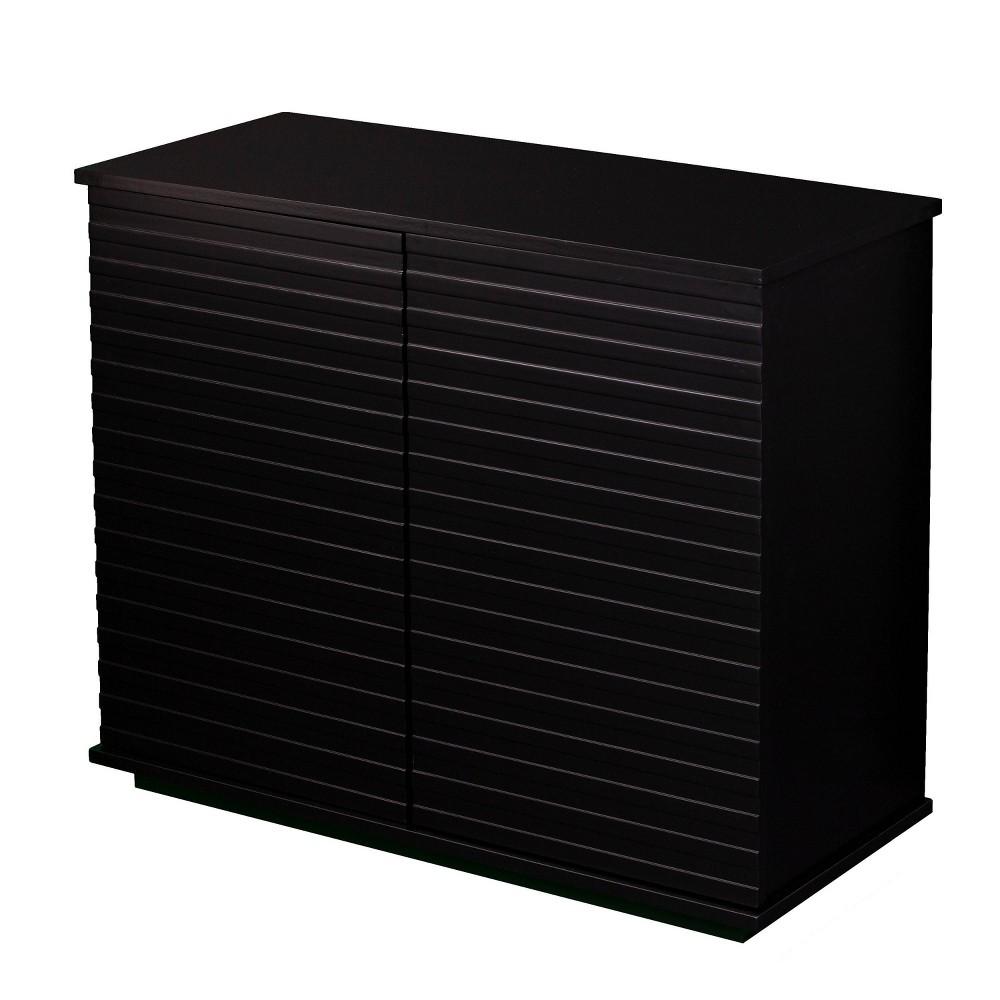 Altair Storage Cabinet Black - Aiden Lane