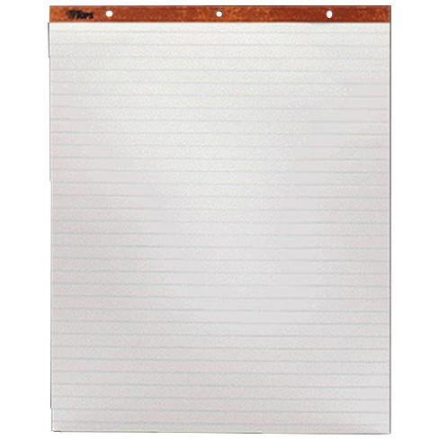 Tops Easel Pad, 27 x 34 Inches, Ruled, White, 50 Sheets, pk of 2 - image 1 of 1