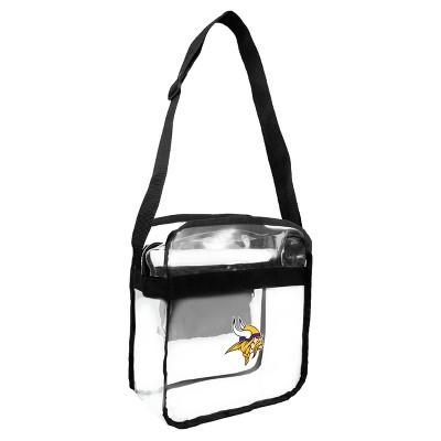 NFL Clear Carryall Crossbody Bag