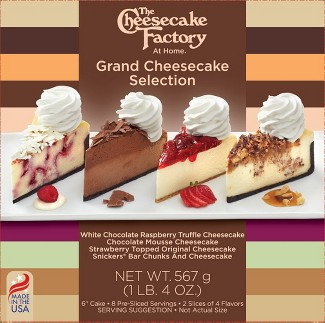 The Cheesecake Factory Frozen Grand Cheesecake Selection - 20oz