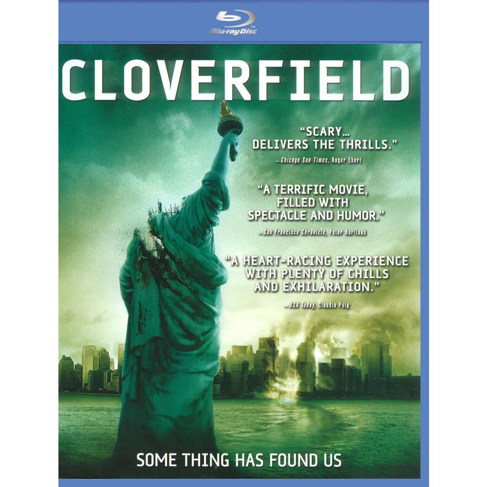 Cloverfield (Blu-ray), Movies