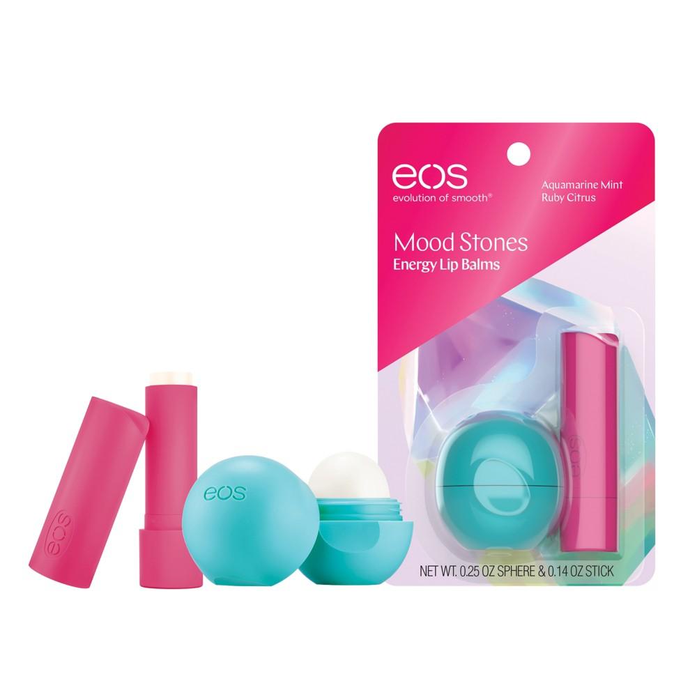 Image of eos Aquamarine Mint And Ruby Citrus Balm Stick - .39oz