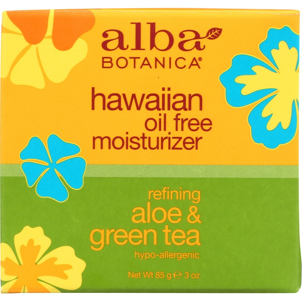 Image of Alba Hawaiian Refining Aloe & Green Tea Oil-Free Moisturizer- 3oz
