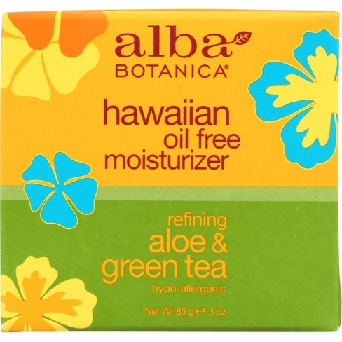 Alba Hawaiian Refining Aloe & Green Tea Oil-Free Moisturizer- 3oz - image 1 of 4