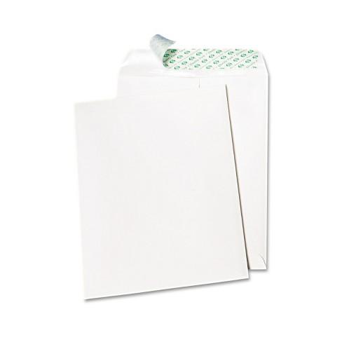 Quality Park Tech No Tear Catalog Envelope Poly Lining 10 x 13 White 100/Box 77397 - image 1 of 1