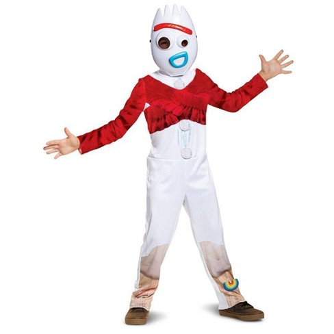 Toddler Disney Toy Story Forky Halloween Costume Jumpsuit - image 1 of 3