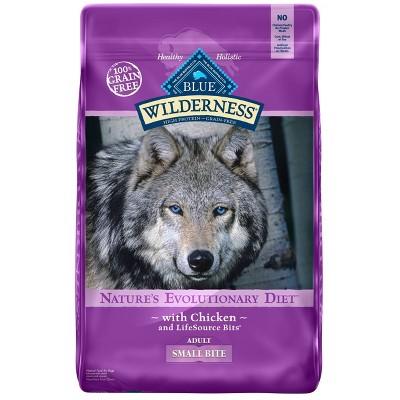 Dog Food: Blue Buffalo Wilderness Adult Small Bite