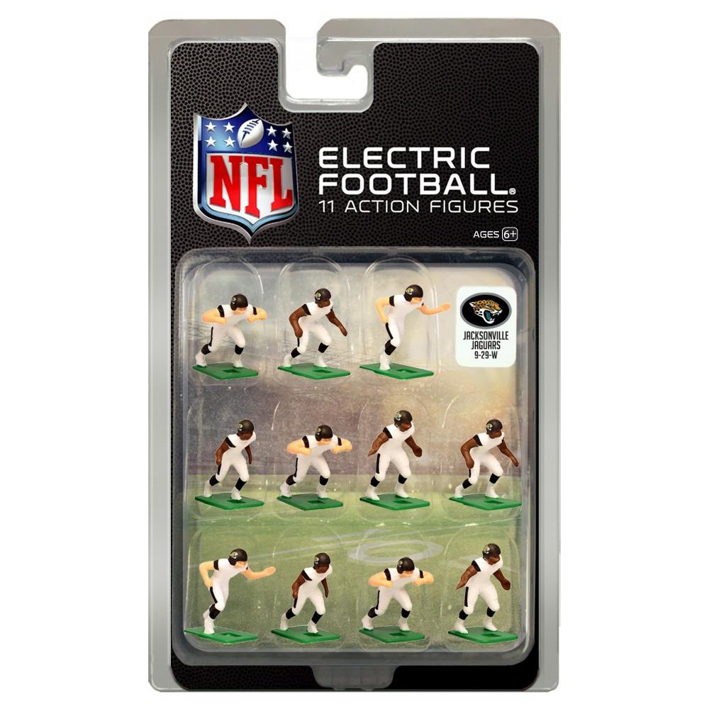 NFL Jacksonville Jaguars Tudor Games Away Uniform Electric Football Action Figure Set