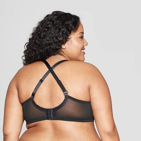 493ac9d82fe Women s Plus Size Sublime Lace Plunge Push Up Bra - Auden™ Black ...