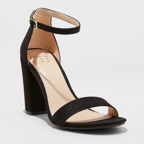Women's Ema High Block Heel Pumps - A New Day™ - image 1 of 3