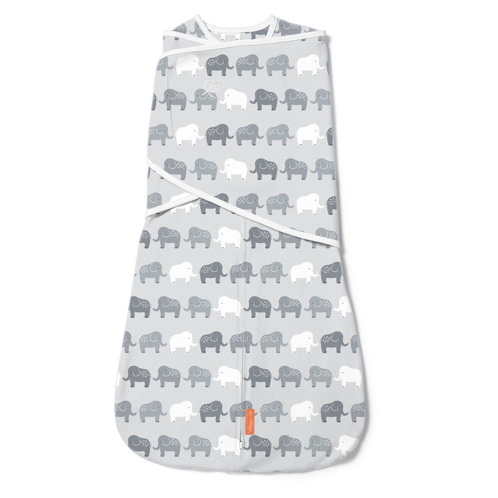 Swaddleme Arms Free Convertible Swaddle Elephant In A Row 4 6m