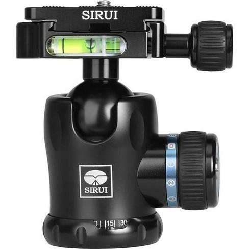 Sirui K-10II Ball Head with Aluminum Friction Control Knob, Load Capacity 44 lbs - image 1 of 4