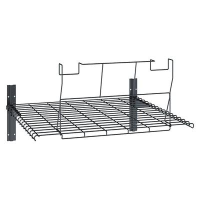 Shed Loft Shelf - Black - Black - Suncast