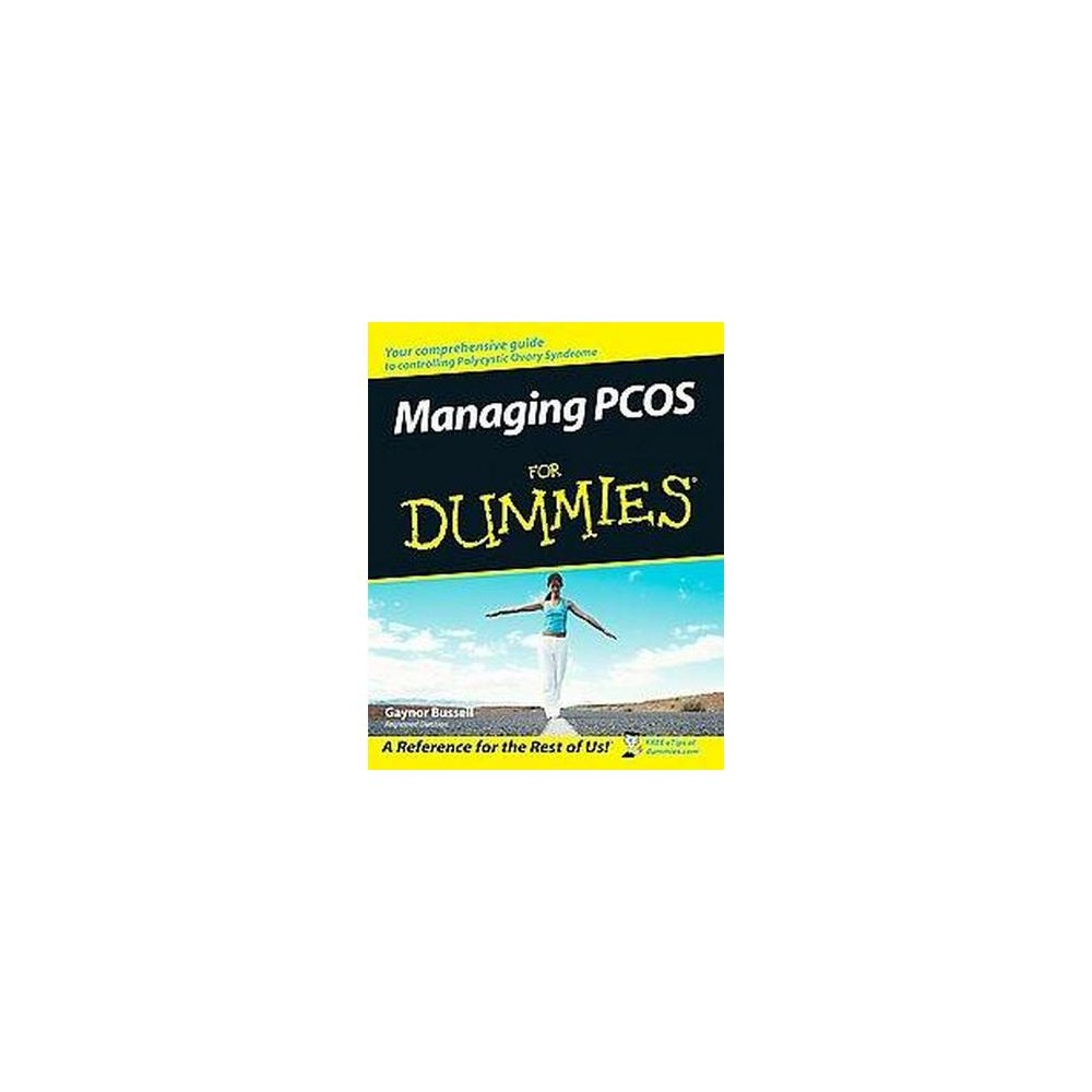 Managing Pcos for Dummies (Paperback) (Gaynor Bussell)